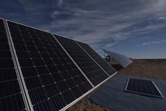 Foto14 (Intendente de Tarapacá) Tags: intendente quezada y ministra de energía participaron en la instalación los 1ros paneles fotovoltaicos granja solar 22052019