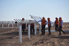Foto10 (Intendente de Tarapacá) Tags: intendente quezada y ministra de energía participaron en la instalación los 1ros paneles fotovoltaicos granja solar 22052019