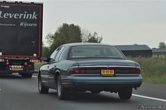 1997 Mercury Grand Marquis LS (NielsdeWit) Tags: ls nielsdewit car vehicle highway motorway a12 driving snelweg rjsv06 mercury grand marquis or15fj