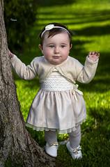 Carla (rhino660) Tags: portrait spring beautiful baptism nature infant kid baby