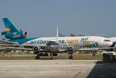 Air Lib Express                          McDonnell Douglas DC-10-30                                   N956PT (Flame1958) Tags: 1850 airlibexpress airlibexpressdc10 n956pt mcdonnelldouglasdc10 dc10 mcdonnelldouglas opf kopf opalockaairport 160205 0205 2005 airlib airlibdc10