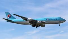 HL7643 Boeing 747-8B5 Korean Air (R.K.C. Photography) Tags: hl7643 boeing 7478b5 b747 koreanair ke kal aircraft aviation airliner london england unitedkingdom uk heathrow londonheathrowairport lhr egll canoneos100d