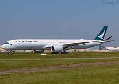 F-WZHK Airbus A350 Cathay Pacific (@Eurospot) Tags: blxl fwzhk airbus a350 a3501000 lfbo toulouse blagnac cathaypacific
