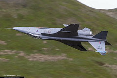 XZ399/EJ - Sepecat Jaguar GR3A - No. 6 Squadron, RAF (KarlADrage) Tags: xz399 sepecatjaguar jaguargr3a 6sqn 6squadron flyingcanopeners raf royalairforce lfa7 machloop lowlevel lowfly