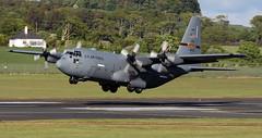 96-1003 (PrestwickAirportPhotography) Tags: egpk prestwick airport usaf united states air force lockheed c130 hercules minnesotta national guard 961003