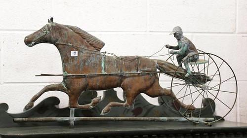 Horse weather vane ($420.00)