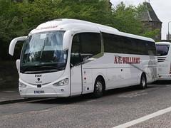 AC Williams of Ancaster YN17OOX Scania K360iB4 Irizar i6 YN17OOX at Johnston Terrace, Edinburgh, on 13 May 2019. (Robin Dickson 1) Tags: busesedinburgh acwilliamsofancaster yn17oox irizari6 scaniak360ib4