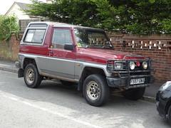 1989 Daihatsu Fourtrak 2.8 EX Diesel Turbo (Neil's classics) Tags: vehicle 1989 daihatsu fourtrak 28ex diesel turbo wagon car