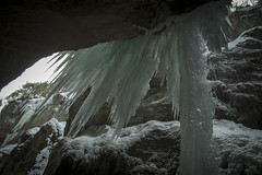 Partnach gorge in Ice (mstuebner) Tags: gorge ice outdoor bavaria germany water mountains