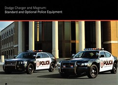 2007 Dodge Magnum & Charger Police Vehicles (aldenjewell) Tags: 2007 dodge charger magnum vehicles police brochure