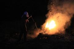 Fire (commanderslick) Tags: lands cayman caribbean night fire naturephoto grandcayman composition blaze plants holy canonphotography canonphotographer canon natureg photooftheday