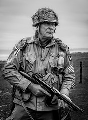 101st Airborne (Richard_Turnbull) Tags: northumberland nikon d600 blyth battery army war soldiers us airborne paratrooper