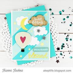 Sweet Dreams (akeptlife) Tags: baby card cardmaking mixedmediasticker balloon papercrafting momenta