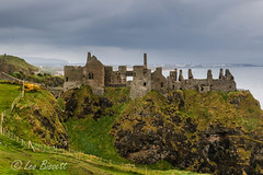 Dunluce (Leo Bissett) Tags: antrim coast giantscauseway castle ruin sea northernireland cliff ulster