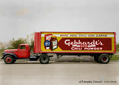 Gebhardts Eagle Chili Colorized (gdmey) Tags: international internationaltruck ih truck transportation fallenflag colorized