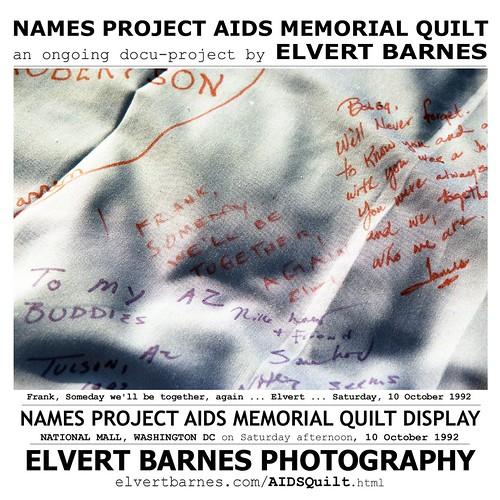 AIDS.Quilt.Frank.October1992.TShirt.2019