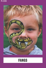R-006 FANGS (BEYOND Face Painting) Tags: reptile reptiles amphibians amphibian animal animals beyond bfp originals