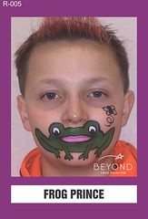 R-005 FROG PRINCE (BEYOND Face Painting) Tags: reptile reptiles amphibians amphibian animal animals beyond bfp originals