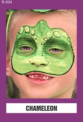 R-004 CHAMELEON (BEYOND Face Painting) Tags: reptile reptiles amphibians amphibian animal animals