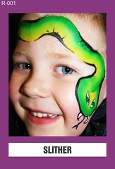 R-001 SLITHER (BEYOND Face Painting) Tags: reptile reptiles amphibians amphibian animal animals 3 three 3min 3minute
