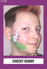 E-008 CHEEKY BUNNY (BEYOND Face Painting) Tags: easter animal animals bfp beyond originals
