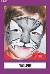 A-043 WOLFIE (BEYOND Face Painting) Tags: animal animals beyond bfp originals