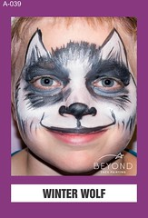 A-039 WINTER WOLF (BEYOND Face Painting) Tags: animal animals beyond bfp originals