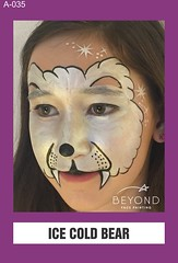 A-035 ICE COLD BEAR (BEYOND Face Painting) Tags: animal animals beyond bfp originals