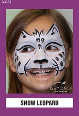 A-034 SNOW LEOPARD (BEYOND Face Painting) Tags: animal animals beyond bfp originals