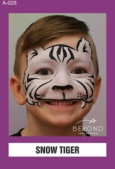 A-028 SNOW TIGER (BEYOND Face Painting) Tags: animal animals beyond bfp originals