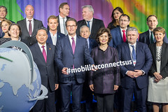 Mobility connects us photo in front of Noah's Train (International Transport Forum) Tags: 2019annualsummit 2019summit annualsummit transport connectivity regional integration forum itf infrastructure mobility markets communities globalisation crossborder roadsafety intermodal modal institutions megaregions rural remote maas mobilityasaservice internationaltransportforum interoperability leipzig ministerialsummit multimodal oecd transportforum transportminister transportpolicy transportconference interurban itf19 noahsarc dbcargo mobilityconnectsus saxonia germany