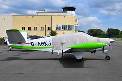 G-ARKJ Beech N35 Bonanza (eigjb) Tags: weston airport dublin ireland eiwt light aircraft airplane plane spotting aviation general ga 2019 garkj beech n35 bonanza vtail