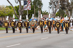 West Torrance High School (mark6mauno) Tags: west torrance high school 60thannualtorrancearmedforcesdayparade 60th annual armed forces day parade 2019 nikkor 70200mmf28evrfled nikon nikond810 d810