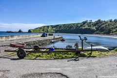 Cattereline Harbour - Aberdeenshire Scotland - 17th May 2019 (DanoAberdeen) Tags: catterline catterlineharbour aberdeen aberdeenshire aberdeenscotland visitscotland visitaberdeenshire danoaberdeen 2019 candid amateur seascape seashore beach beachwalk outdoors sea blue bluesky green fishing fish fishingvillage fishingboat fisherman outside dayout walks cliffs scenery landscape travel visitors ancient museum freshair danophotography coast coastline scottishcoast northsea walk scotch autumn summer winter spring stonehaven stoney dunnottarcastle dunnottar hiddenscotland