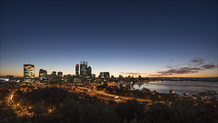 City Limits (SteveKPhotography) Tags: stevekphotography sony alpha a99ii sal1635za city cityscape dawn scenery scenic za carlzeiss longexposure wideangle daybreak citylights landscape outdoors perth westernaustralia