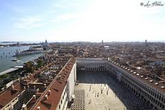 San Marco From Above 2 (Luca Bobbiesi) Tags: venice veneto venezia panorama cityscape sanmarco campanile island laguna piazza wideangle canoneos7d canonefs1022mmf3545usm
