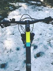 Last Snow (pjen) Tags: boreal maastopyörä pike 275 650b kashima trail bicycle bike 2x11 outdoor vehicle 5010 5010cc 50to01 spring santacruz mtb finland nature forest carbon hiilikuitu maastopyöräily fullsuspension frost frozen ice snow