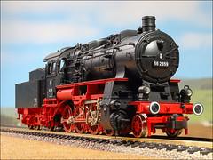Baureihe 56 (hans der insulaner) Tags: lok dampflok h0 fleischmann bahn modellbahn db deutschebundesbahn baureihe56 br56 lokomotive dampflokomotive train