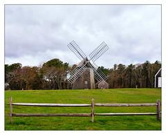 Higgins Farm Windmill (Timothy Valentine) Tags: capecod 0419 sky windmill friday 2019 fence brewster massachusetts unitedstatesofamerica