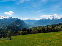 Seewis (oonaolivia) Tags: seewis graubünden schweiz switzerland landschaft berge walking