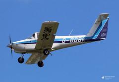 G-BGBK Piper PA-38-112 Tomahawk, Smart People Don't Buy Ltd, Gloucestershire Airport, Staverton, Gloucestershire (Kev Slade Too) Tags: gbgbk piper pa38 tomahawk smartpeopledontbuyltd egbj gloucestershireairport staverton gloucestershire