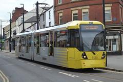 Manchester Metrolink Tram 3120 - Rochdale (dwb transport photos) Tags: manchester metrolink tram 3120 flexity swift rochdale