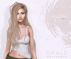 Opale Hair . Ulyana @ MainStore NeW Release May'19 (Opale HairStore) Tags: 3d sl second life opale hair salon