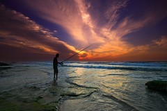 The Fisherman - Tel-Aviv beach (Lior. L) Tags: thefishermantelavivbeach fisherman telaviv beach