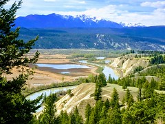 Beautiful British Columbia Canada (Mr. Happy Face - Peace :)) Tags: columbia valley britishcolumbia art2019 nature scenery bc radium cans2s sky cloud sun