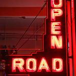 Open Road neon sign, 2 May 2019 thumbnail