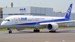 Boeing 787-9, JA883A, All Nippon Airways (tkosada.mac) Tags: dreamliner allnipponairways staralliance boeing b789 tokyointernationalairport hanedaairport hnd rjtt