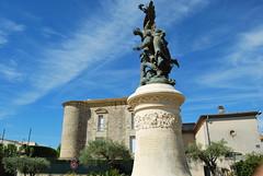 Place Montcalm statue