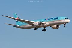 Korean Air b787-9 HL8345 (José M. Deza) Tags: 20190520 b7879 bcn boeing elprat koreanair lebl planespotting spotter aircraft hl8345