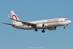 Royal Air Maroc B737-8B6 CN-ROL (José M. Deza) Tags: 20190520 b7378b6 bcn boeing cnrol elprat lebl planespotting royalairmaroc spotter aircraft